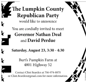 Lumpkin County GOP Invite