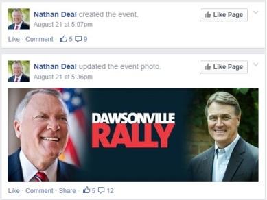 Natahn Deal Facebook Event Update