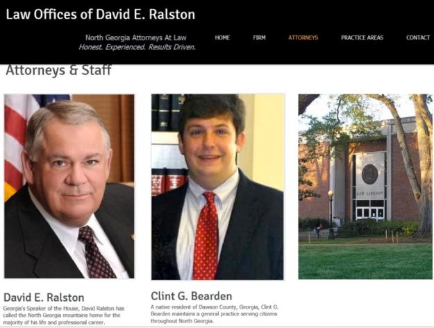 DavidRalstonLaw.com before attack on Nydia Tisdale